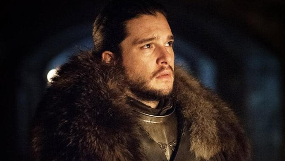 Kit Harington as Jon Snow in season 7 of HBO's Game of Thrones.