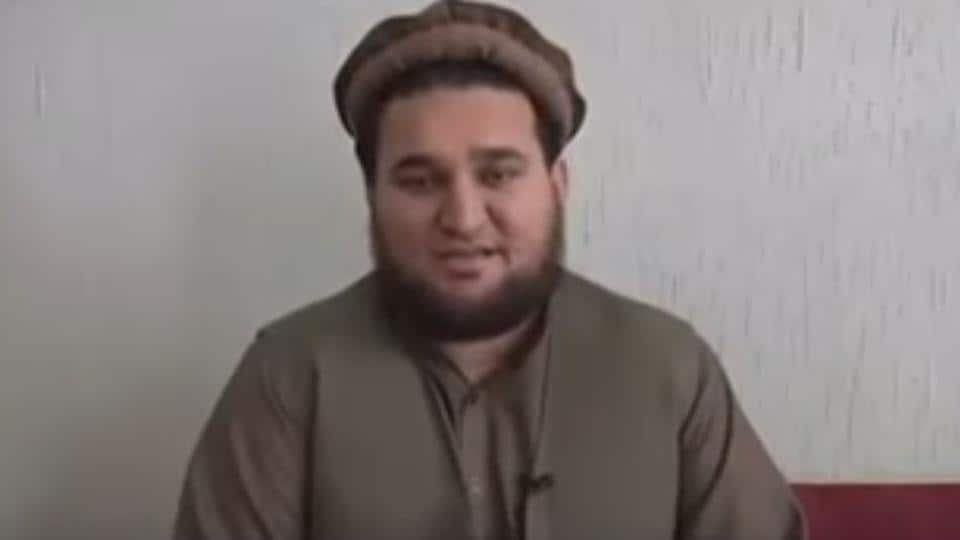 """Frame grab from """"confessional"""" video of former Taliban spokesman Ehsanullah Ehsan that was released on Wednesday by the Pakistani military."""