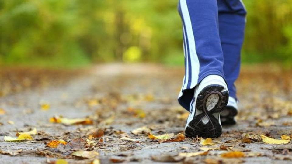 Keep walking! It's good not only for your heart, but for your brain too.
