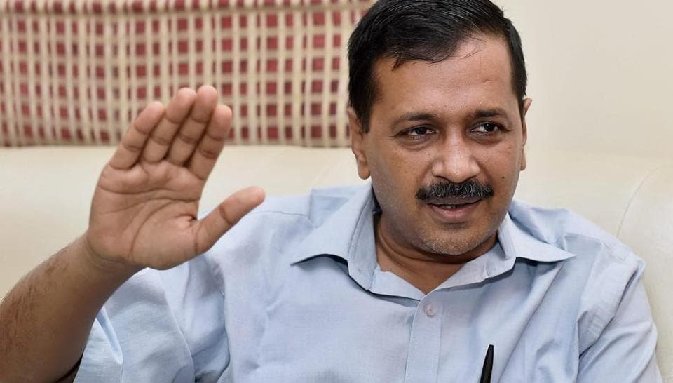 Delhi chief minister Kejriwal had earlier on Monday stuck a defiant note after exit polls predicted a BJP sweep in the civic polls.