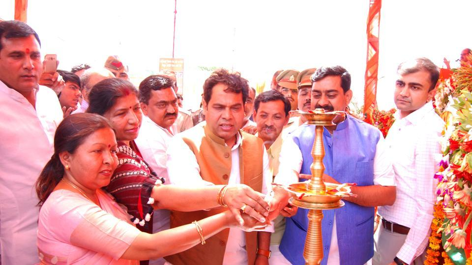 The minister was in Modi Nagar of Ghaziabad to inaugurate an upgraded electricity substation and a new distribution substation on Wednesday.
