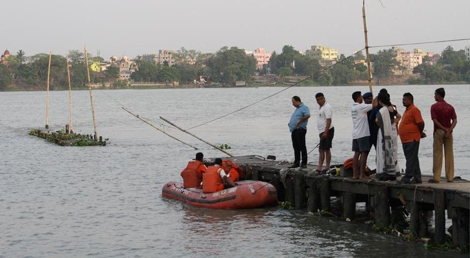 Hooghly,Bhadreshwar,Jetty Collapse