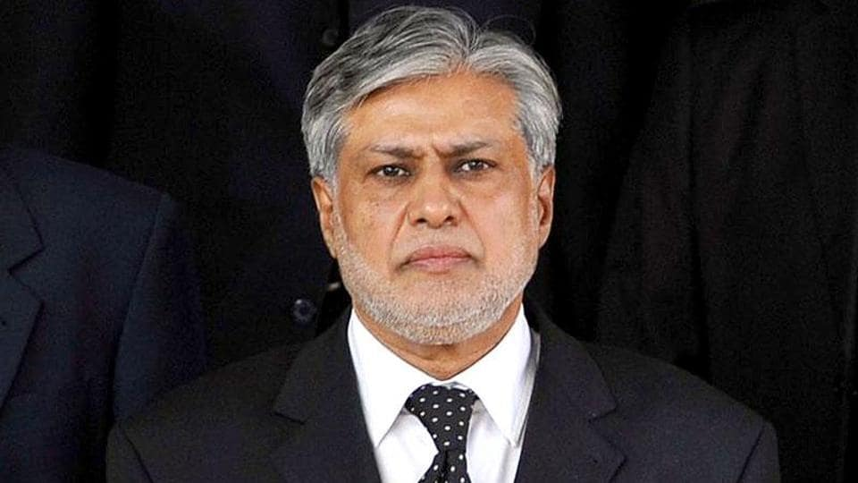 """Pakistan's finance minister Ishaq Dar said he would also ask the help of """"common friend"""", the United States, to settle the dispute with India over Kashmir."""