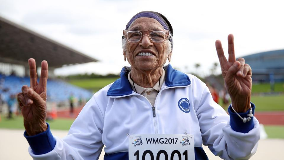 Mann Kaur clinched gold and finished the race in 1 minute and 14 seconds, breaking her previous record.