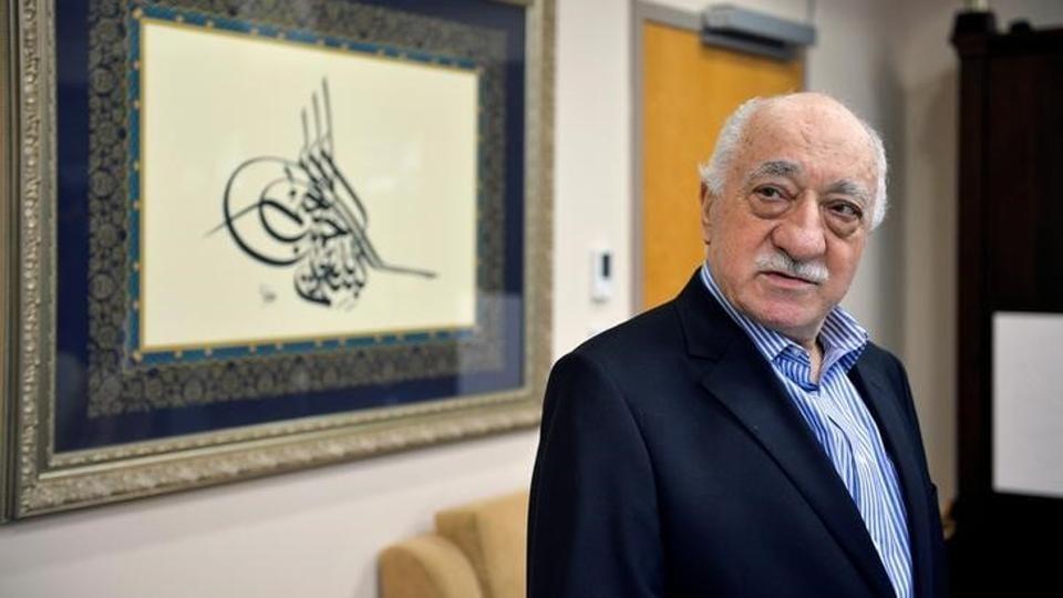 US based cleric Fethullah Gulen at his home in Saylorsburg, Pennsylvania.