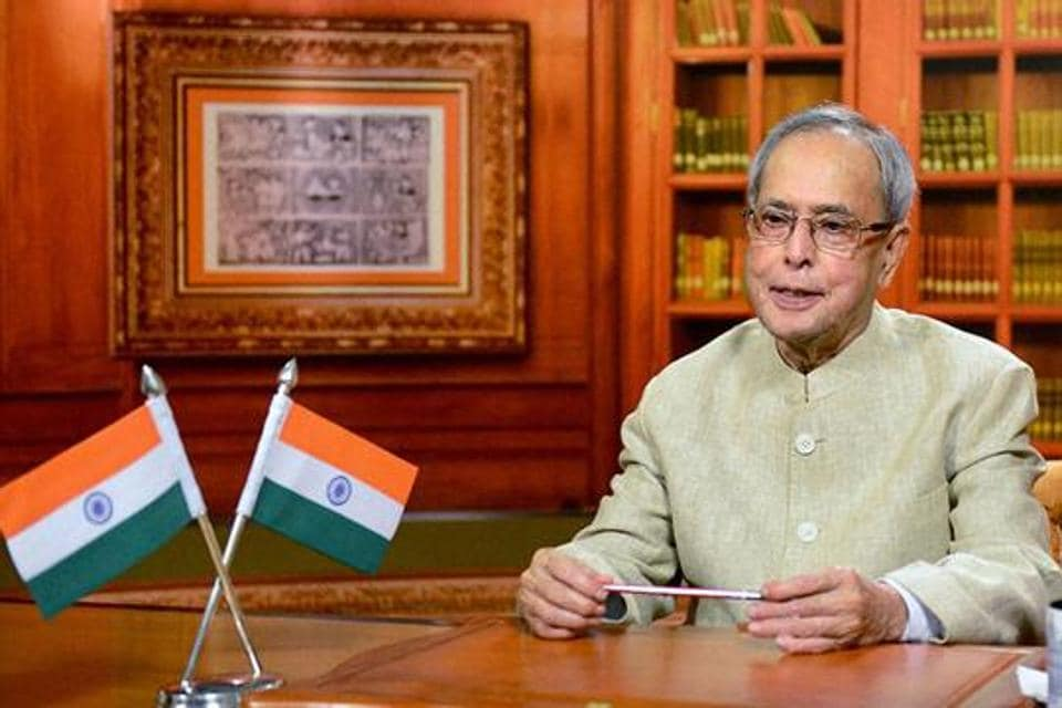Pranab Mukherjee took oath as the 13th President of India in July , 2012.
