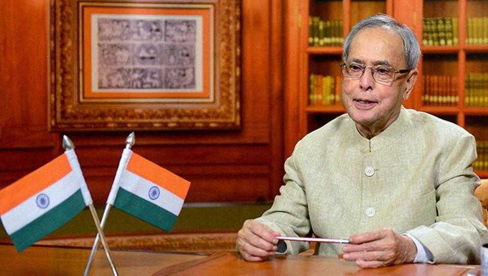 President Pranab Mukherjee will complete his five-year term in July.