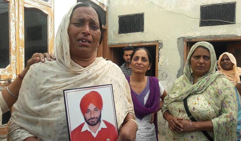 Akali sarpanch,political vendetta,Sukhbir badal