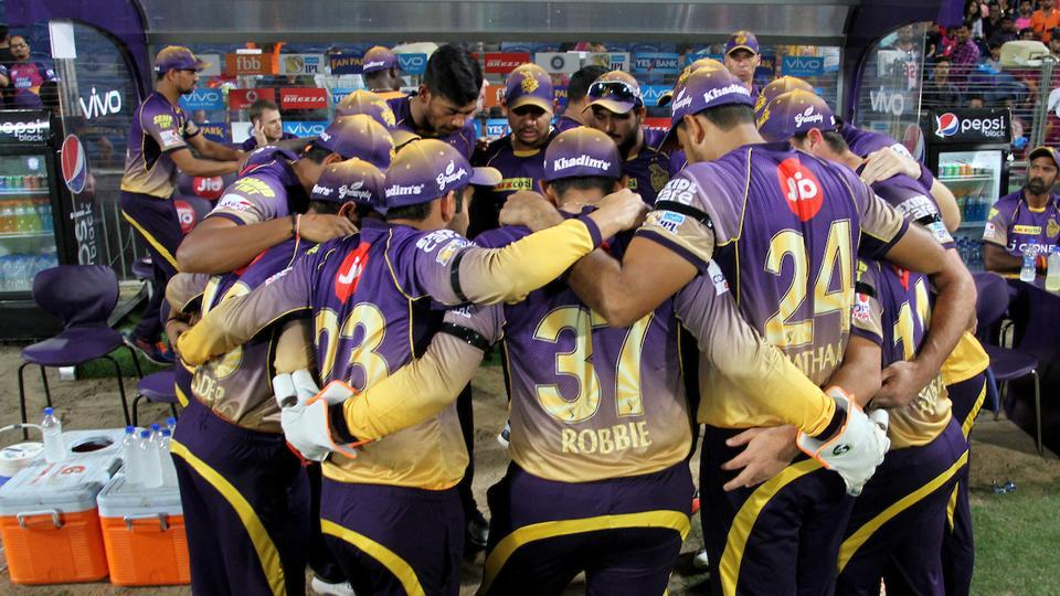 Kolkata Knight Riders are wearing black armbands in their IPL 2017 match against Rising Pune Supergiant in order to condole the deaths of 25 CRPF men.