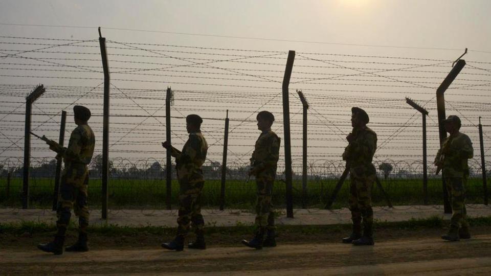 Nishar Ahmad Ansari of Nainkot in Pakistan crossed the International Boundary inadvertently on Tuesday.