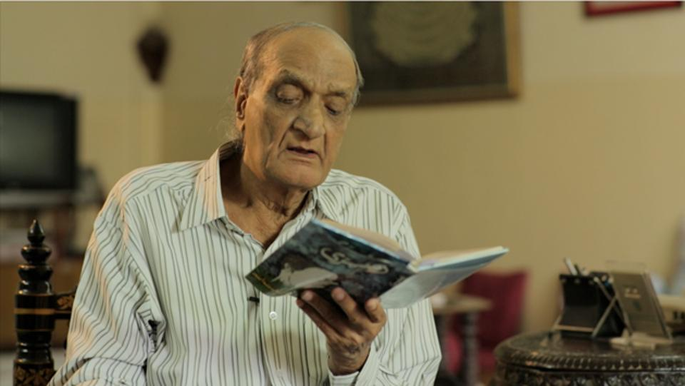 A still from A Tongue Untied, featuring poet Mohammad Himayatullah