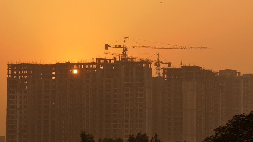 Earlier the Noida authority used to examine a housing project only after it got completed.
