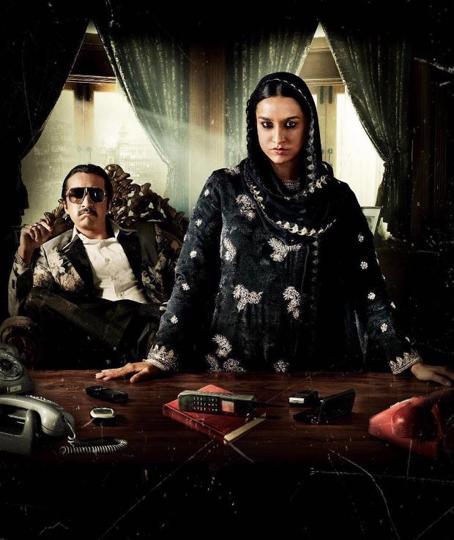 Shraddha Kapoor plays Dawood's sister in Haseena.
