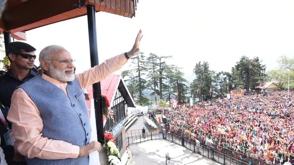 Prime Minister Narendra Modi on Thursday flagged off the first Rs 2,500-an-hour flight from Shimla as part of an UDAN scheme that makes air travel accessible to lower middle class families.
