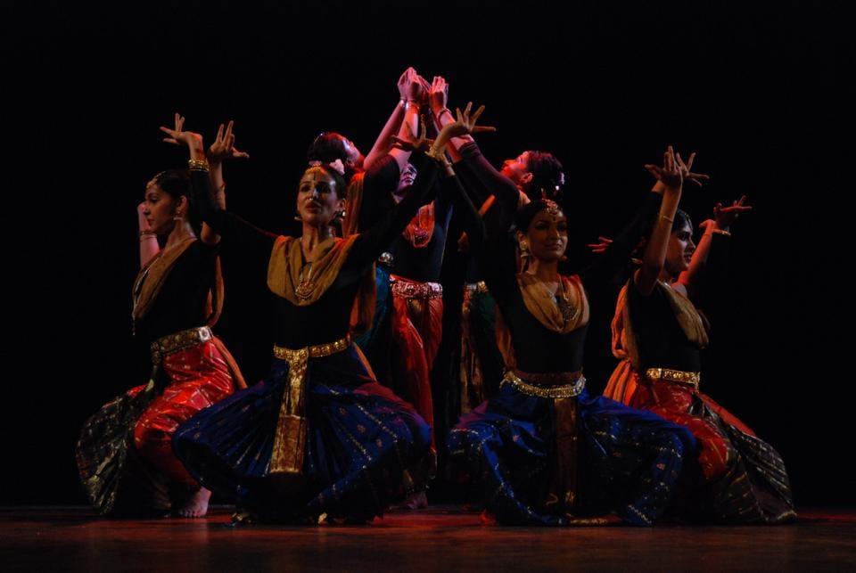 Students of Natya Tarangini will  celebrate World Dance Day by with a Kuchipudi recital.