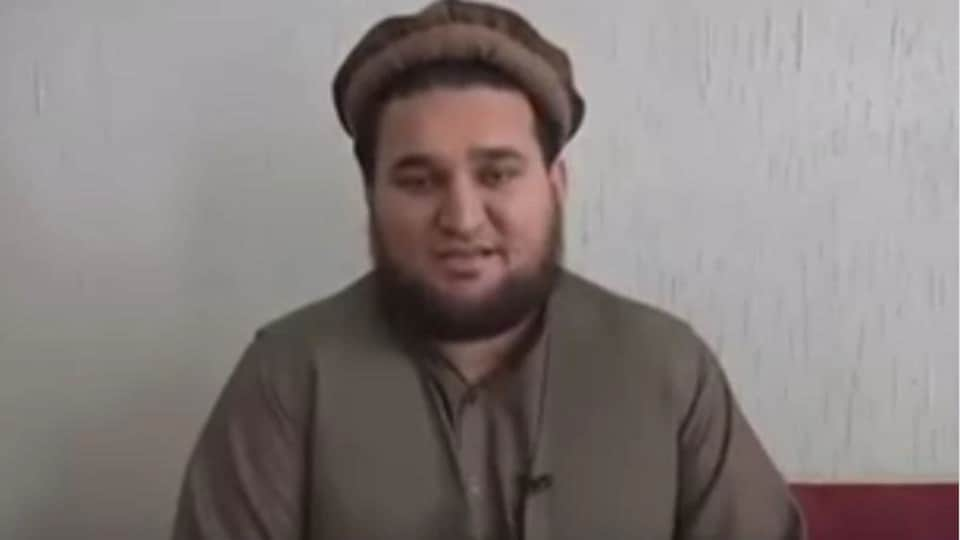 """Screengrab from """"confessional"""" video of former Taliban spokesman Ehsanullah Ehsan that was released on Wednesday by the Pakistani military."""