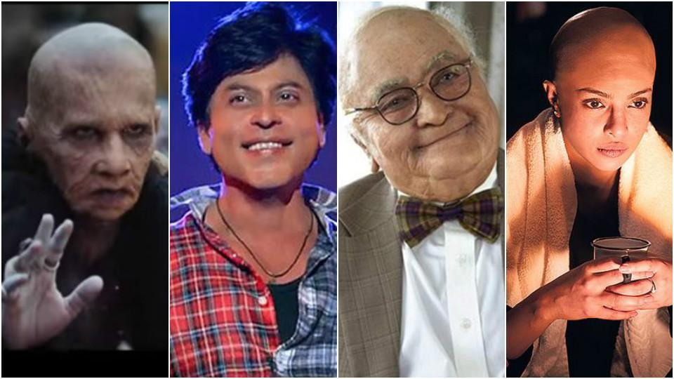 Prosthetics are used for complete character makeovers. Rajkummar Rao, ShahRukh Khan, Rishi Kapoor, Priyanka Chopra have been transformed by it.
