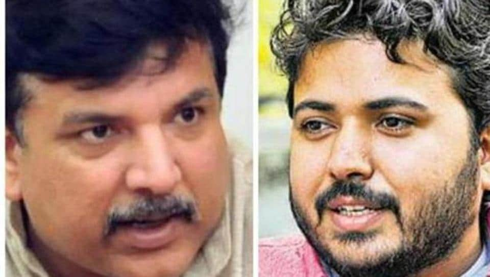 Sanjay Singh and Durgesh Pathak's resignations come a day after the party faced a rout in the Delhi civic elections and its Punjab unit gunning for them.