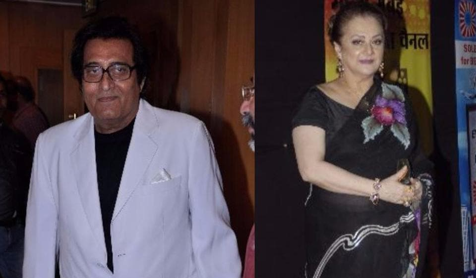 Saira Banu worked with Vinod Khanna in many films including Aarop, Nehle Pe Dehla and Hera Pheri.