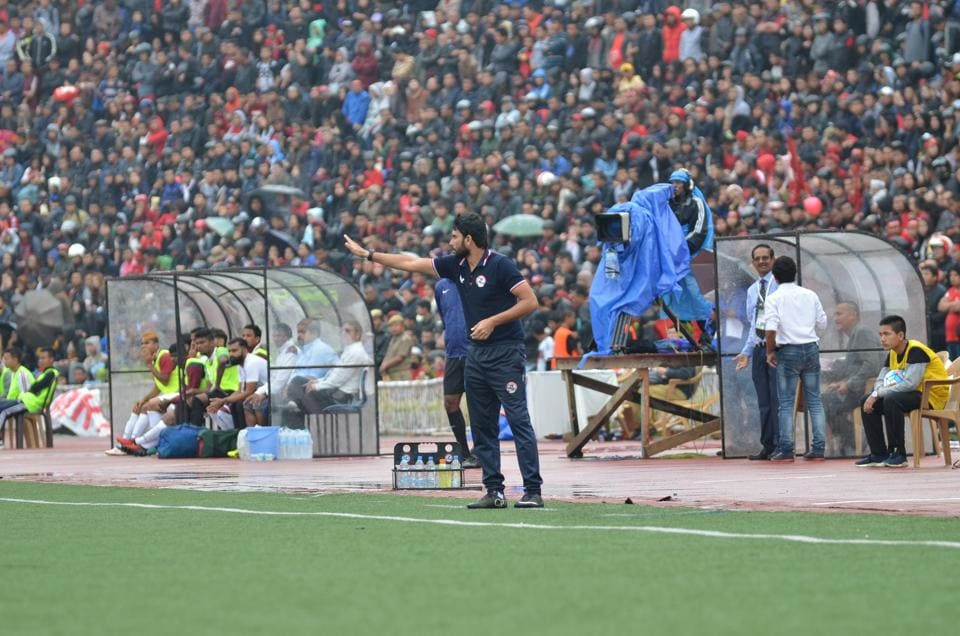 Aizawl FCcoach Khalid Jamil is soaking in the pressure ahead of their crucial I-League clash against Shillong Lajong