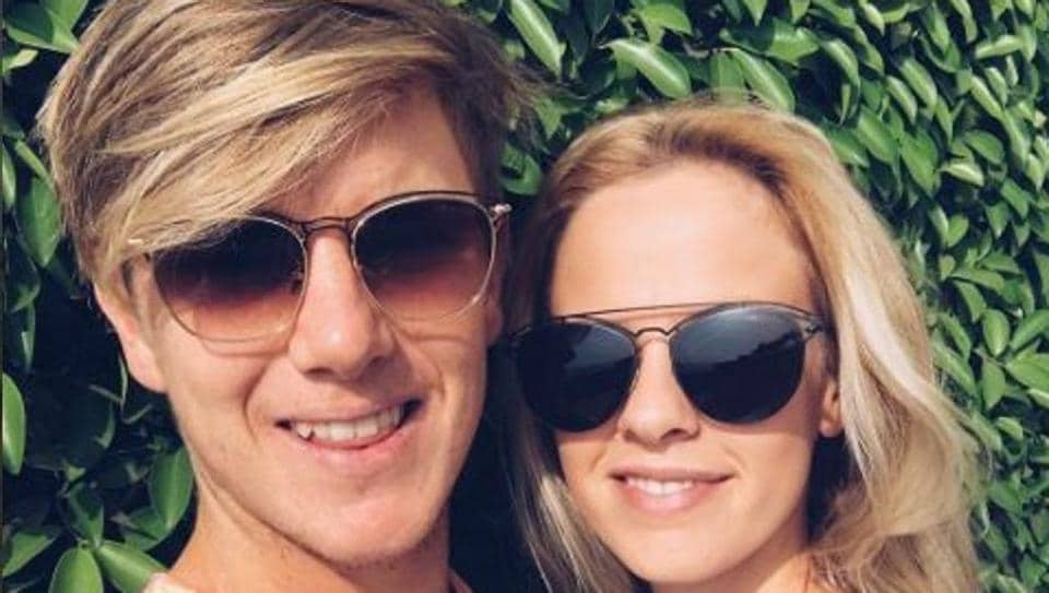 The picture that Hattie Leigh Palmer instagrammed with Australian and Rising Pune Supergiant cricketer and boyfriend Adam Zampa.