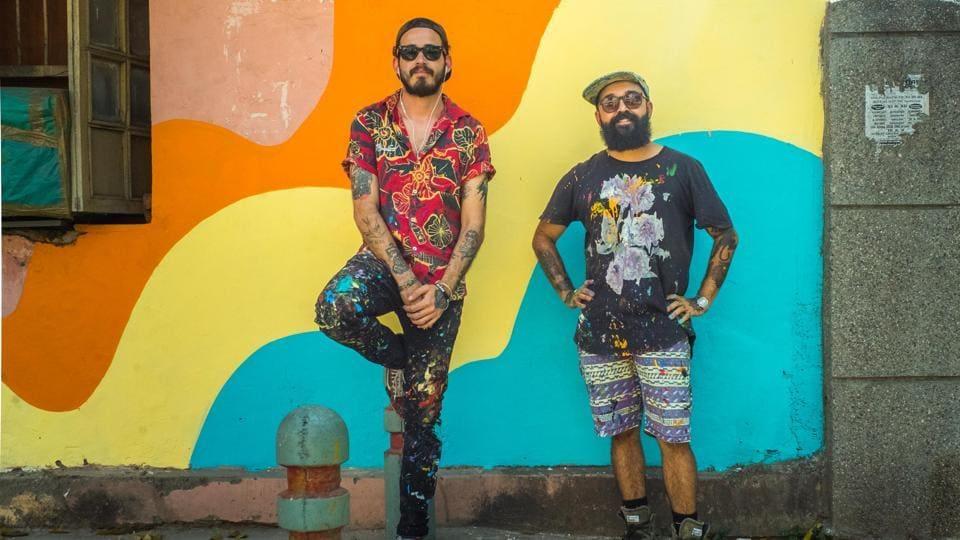 Lodhi Art District,St+art India Foundation,Bicicleta Sem Freio