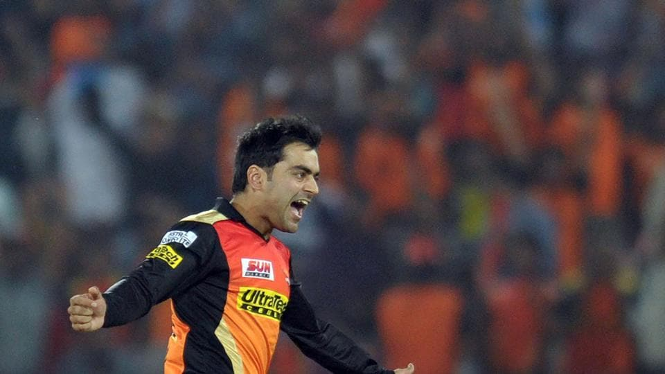 Rashid Khan has taken wickets at crucial intervals for the Sunrisers Hyderbad in 2017 Indian Premier League.