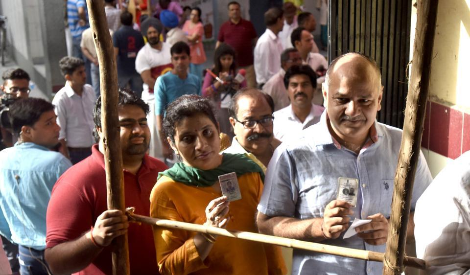 Three of the four wards in Delhi deputy chief minister Manish Sisodia's assembly constituency - Patparganj - were pocketed by the BJP .