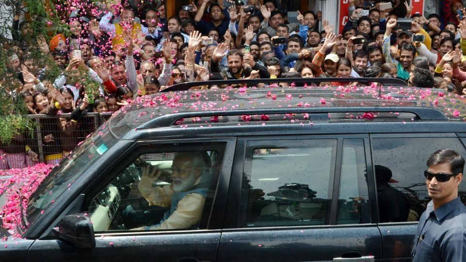 Narendra Modi,PM in Shimla,The Ridge