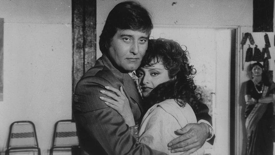 Vinod Khanna and Rekha in Kismat Ki Rekha. (HT Photo)