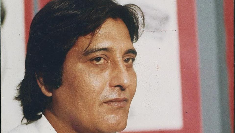 Vinod Khanna at Hindustan Times House.