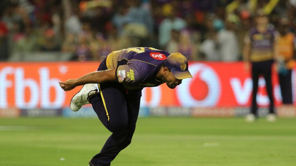 Yusuf Pathan dropped Rahul Tripathi on 35. (BCCI)