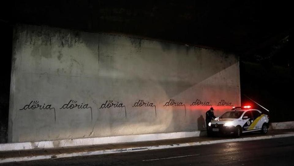 "The fate of those murals, commissioned by the prior mayor, has sparked a debate over the world-famous graffiti scene in South America's biggest city and its place in the cleaner landscape imagined by Doria's ""Pretty City"" program."