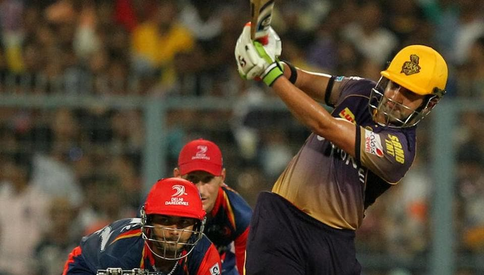 Gautam Gambhir top scored for theKolkata Knight Riders with a brilliant innings of 71 not outin their2017 Indian Premier League match againstDelhi Daredevils at the Eden Gardens. Get highlights of Kolkata Knight Riders vs Delhi Daredevils here.