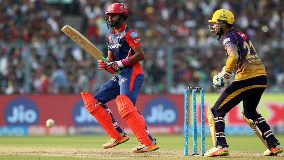Shreyas Iyer struck a healthy 47 for Delhi Daredevils. (BCCI)