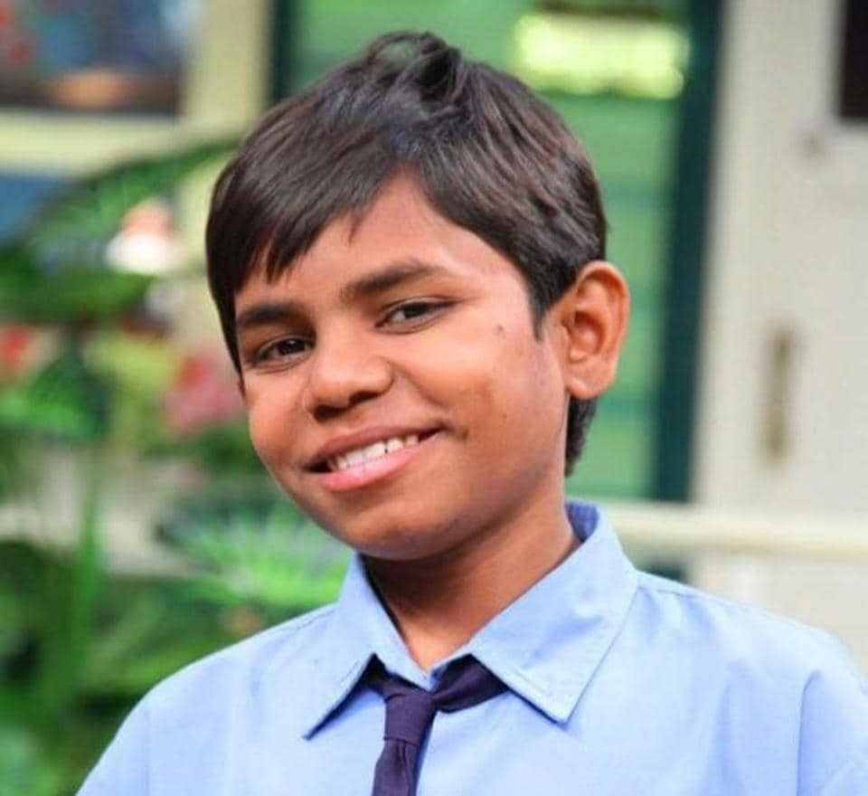 Child artiste Kartikey Raj .