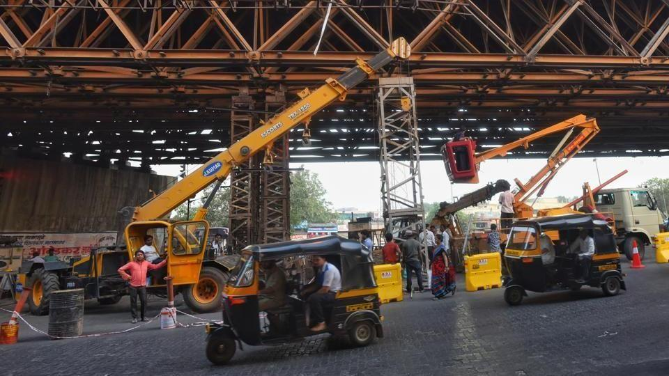 The flyover had been shut since April 8 after two of its joints were found damaged