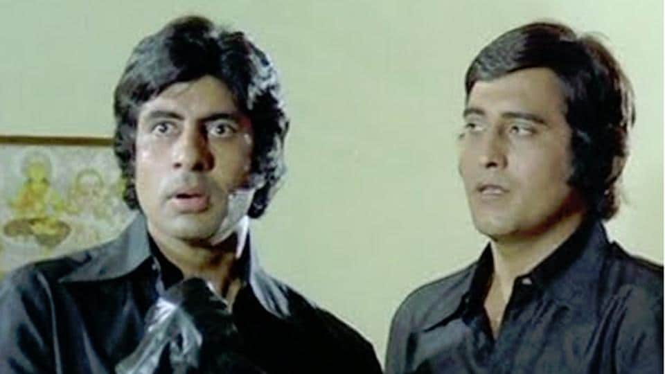Amitabh Bachchan and Vinod Khanna have worked together in more than 10 films.