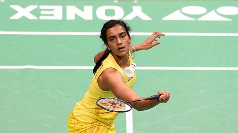 PV Sindhu lost to He Bingjiao of China 21-15, 14-21, 22-24 in the quarterfinals of the Badminton Asia Championships in Wuhan, China, on Friday.