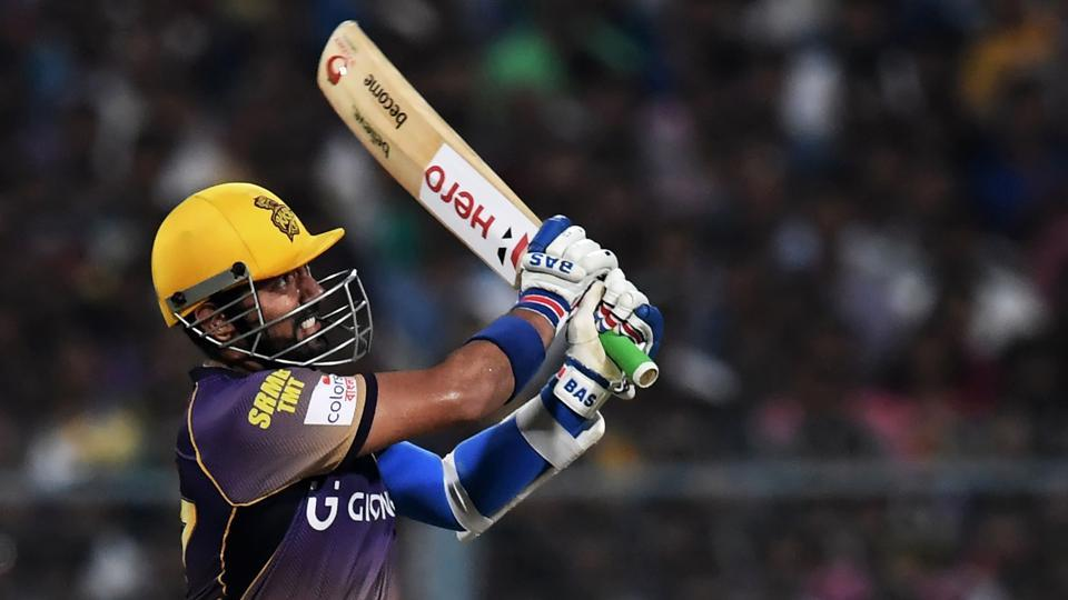 IPL 2017,Robin Uthappa,Kolkata Knight Riders vs Delhi Daredevils