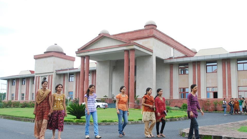 Doon University is one of the buildings constructed by UP Rajkiya Nirman Nigam Ltd.