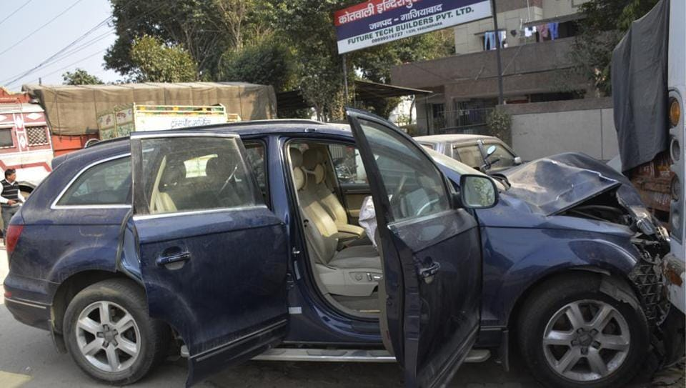On the night of the incident, Audi owner Dr Rawat fled the spot but turned up a week later before the police. He told them that he was present in the car but the vehicle was driven by his driver Ishaq Ahmad, who turned out to be Imtiyaz Qadri.