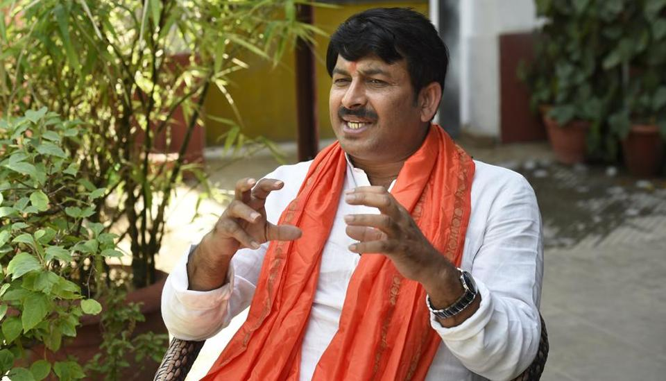 Bhojpuri actor and singer Manoj Tiwari after leading BJP to victory in MCD election. Insiders say 42% Purvanchalis in Delhi voted for BJP.