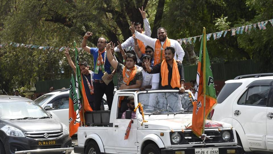 Only 15 councillors from the last term have made it to Delhi's three civic bodies this time.