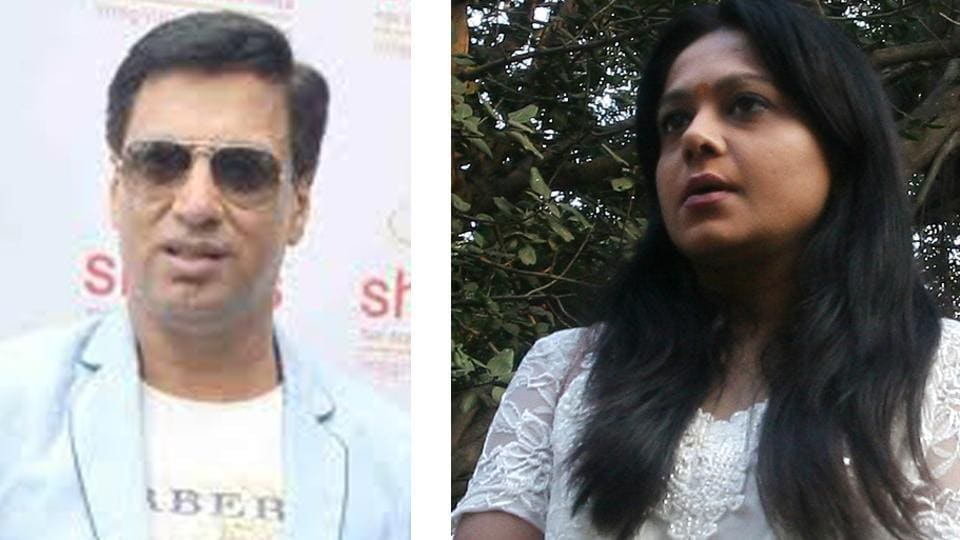 A file photo of Preeti Jain with Madhur Bhandarkar.