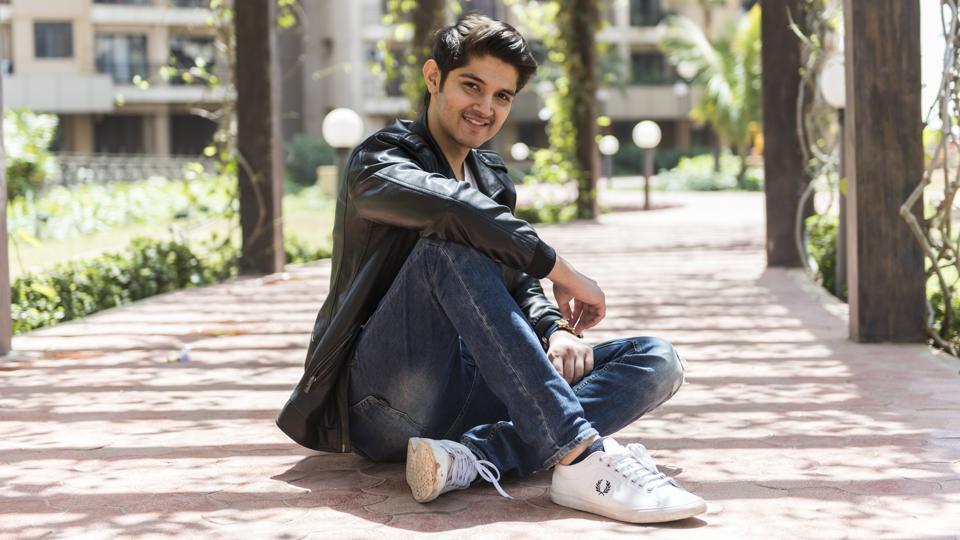 Actor Rohan Mehra at his apartment in Goregaon
