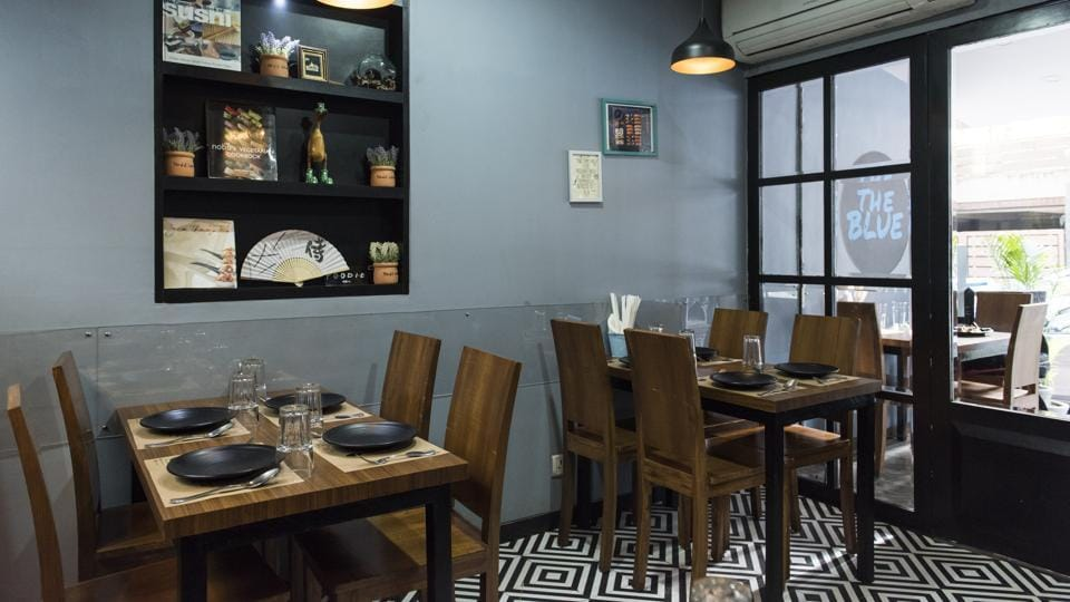 The Blue in Khar is tiny, but it's been receiving huge waves of approval from city chefs and diners.