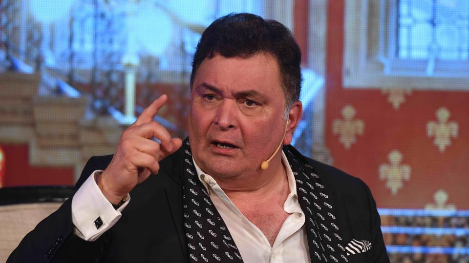 Actor Rishi Kapoor clarified that Ranbir is out of the country, otherwise he  would have attended Vinod Khanna's funeral.