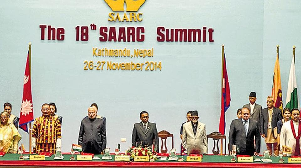 Virtually all our neighbours support China's One Belt, One Road (OBOR) project and its entry into Saarc despite India's position (File Photo)