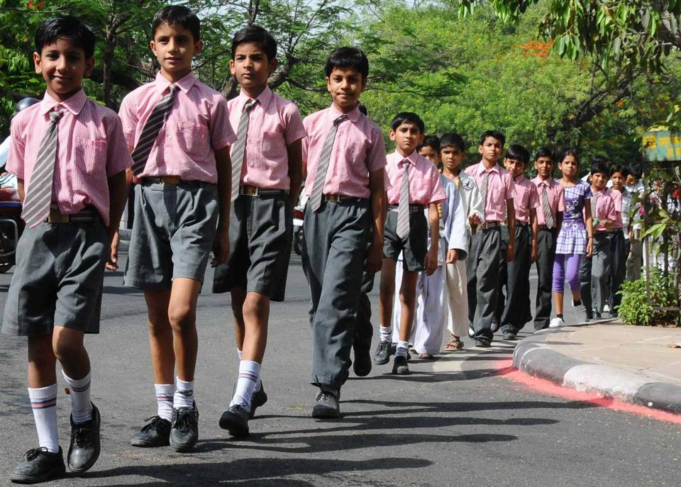 Admission in schools in Rajasthan is increasing under the Right to Education quota has been implemented in the state. PHOTO